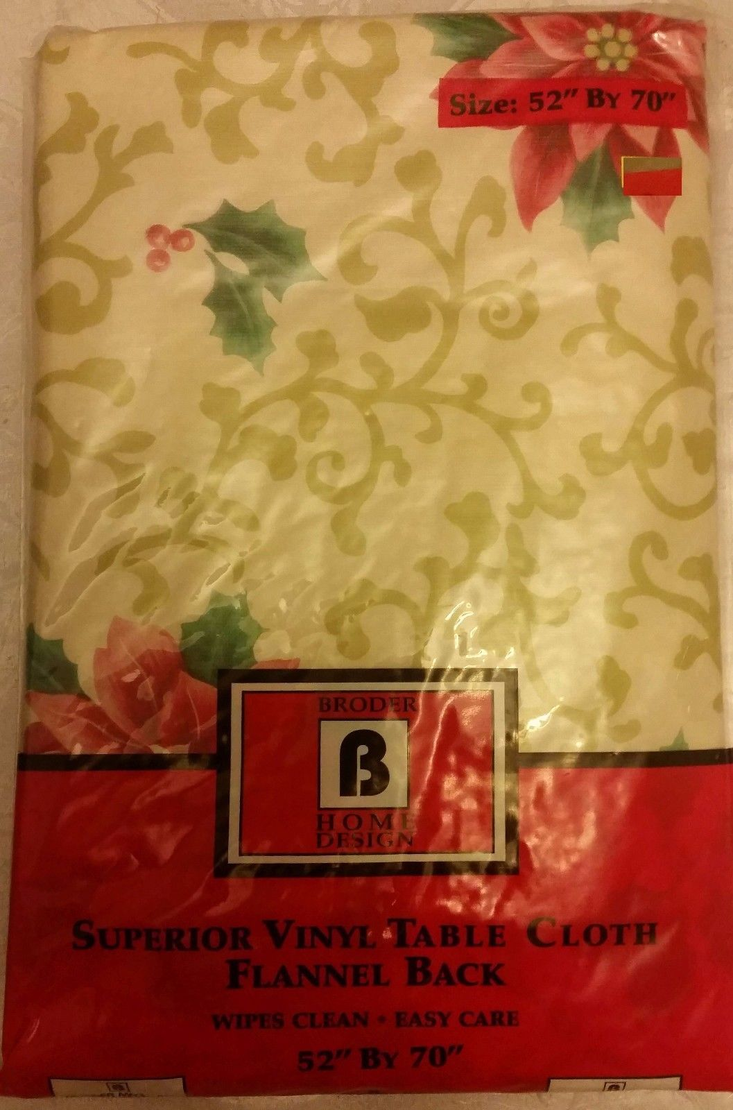 """seats 4-6 people FLOWERS # 3 by BH PEVA Vinyl Tablecloth 60/"""" Round"""