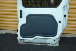 2010-13 Ford Transit Connect Rear Sliding Door W/ Glass Right Side RH image 7