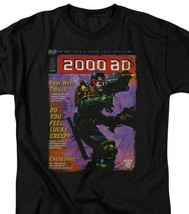 2000 AD Judge Dredd Cover T Shirt  80s 70s retro comic book graphic tee JD103 image 2