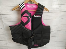 O'Brien Empress Women's Neoprene Life Jacket XL Pink and Black  - $58.79