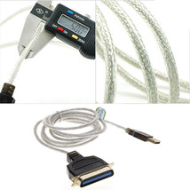 USB 2.0 to Parallel IEEE 1284 36-Pin Printer Adapter Cable For PC Desk J... - $7.52
