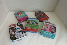 Small Piece Puzzle Mix Lot of 5 - $16.89