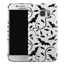 Casestry | White And Black Vine Bat Halloween | Galaxy S6 Case - $225,32 MXN