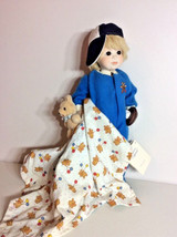 Scottie and the Bears Dolls by Jerri Porcelain Blonde Boy Doll with Base... - $257.53