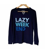 NWT Womens Size Small Nordstrom Chaser Lazy Weekend Love Knit Sweatshirt... - $29.39