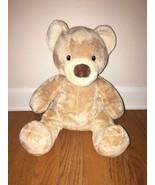 Build-a-Bear Velvet Teddy Bear Soft & Fluffy - $9.90