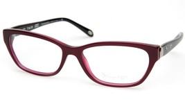 New Tiffany & Co. Tf 2114 8173 Pearl Plum Eyeglasses Frame 55-16-140 B34mm Italy - $133.64