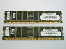 Lot of 2 NeTApp 107-00029+A0 512MB Memory Modules  - $36.95