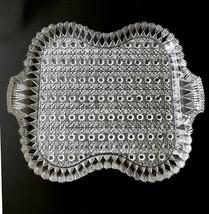 Finecut and Block EAPG Daisy Button Tray Rectangular King Son & Co Circa... - $24.90