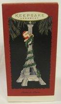 """Hallmark """"Santa in Paris"""" - QX5877 - Dated 1995 - $37.46"""