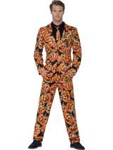Pumpkin Suit, Medium, Halloween Fancy Dress, Mens - $66.08