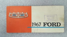 FORD PASS 1967 Owners Manual 15771 - $16.88