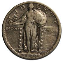 1920 STANDING LIBERTY QUARTER 25¢ Coin Lot# MZ 3866