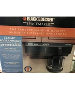Black and Decker Spacemaker Coffee Maker NEW  - $114.99