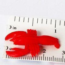 Doll House Shoppe Toy Lobster Set/3 11935 Game Pcs Micro-mini Miniature - $3.89