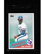 1985 Topps Dave Stewart #723 - $3.50