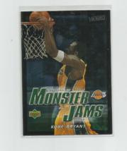 KOBE BRYANT (LA Lakers) 2003 UPPER DECK VICTORY FOIL MONSTER JAMS CARD #213 - $4.95