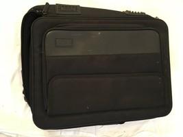 Targus Laptop Case / Bag --BLACK--2 Outside POCKETS--ZIPPERED-GC - $21.60