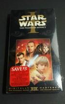 Star Wars 1 Phantom Menace VHS Sealed 2000 - $9.89