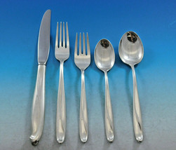 Silver Sculpture by Reed and Barton Sterling Silver Flatware Set Service 70 pcs - $4,200.00