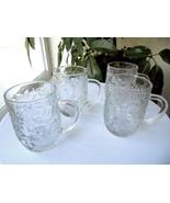 Set of 4 Princess House Fantasia Pattern Coffee Mugs - £22.95 GBP