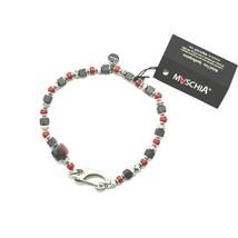 Bracelet en Argent 925 Rubis Zoïsite Corail BPAN-13 Fabriqué Italie By M... - $98.47