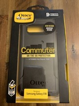NEW OtterBox Commuter Series Case for Galaxy S10 - BLACK otter box - $11.87