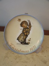 Limited First Edition Schmid M J Hummel Christmas Plate 1971 Heavenly An... - $117.81