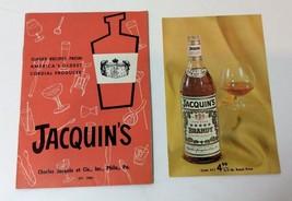 Vintage Jacquins Recipes Bar Cocktail Drink Happy Hour Barguide Five Sta... - $9.70