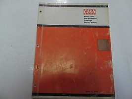 CASE Model 1665 Self Propelled Combine Parts Catalog Manual WORN FADED OEM - $15.83