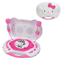 Hello Kitty CD Karaoke System/CD Player - $87.55