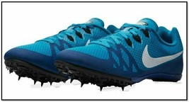Nike Zoom Rival M8 Multi-Use Track Sprint Racing 806555-414 Blue Men 12 - $24.99