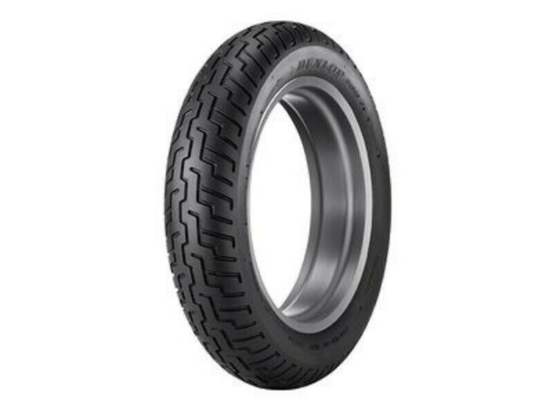 New Dunlop D404 Front 130/90-16 Blackwall Motorcycle Tire 67H