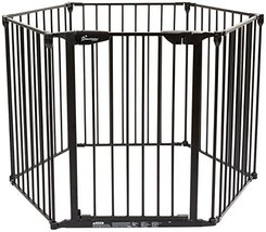 Dreambaby Mayfair Converta 3 in 1 Play-Pen 6 Panel Gate, Black