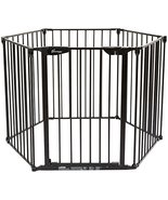 Dreambaby Mayfair Converta 3 in 1 Play-Pen 6 Panel Gate, Black - $139.99