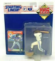 Carlos Delgado Toronto Blue Jays 1995 Starting Lineup MLB Figure NIB Bas... - $19.79