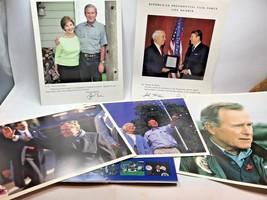 Vintage Lot of 5 color George Bush John McCain Ronald Reagan president p... - $18.56