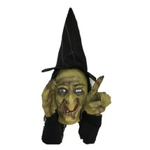 Scary Peeper Fright at First Sight Tapping Witch Window Prop NEW - $46.99
