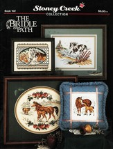 Cross Stitch The Bridle Path Horses Mare Foal Watering Hole Patterns - $13.99