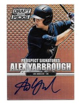 2013 Alex Yarbrough Panini Prizm Draft Picks Rookie Auto Prizm Version -... - $1.89