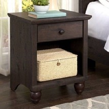 Coffee Side Table Wooden Antique Night Stand End Table Traditional Furni... - $94.26
