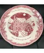 (4) Johnson Brothers Twas The Night Before Christmas Dinner Plates 11 in. ~NEW ~ - $69.99