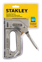 New Stanley Heavy Duty Staple Gun TR110 Chrome Compatible Staples TRA700... - $21.92