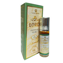 Lord by Al Rehab Spicy Citrus Patchouli Perfume Oil 6ml Roll On Single Bottle - $2.69