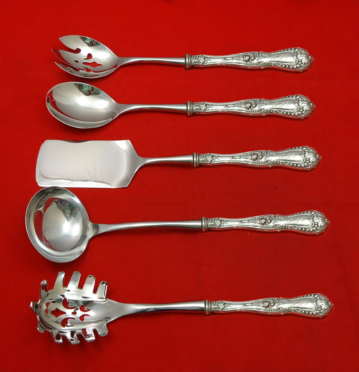 Primary image for Dorothy Vernon by Whiting Sterling Silver Hostess Set 5pc HHWS  Custom Made