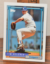 New Mint Topps trading card Baseball card 1992 Tim Belcher Dodgers 688 - $1.48