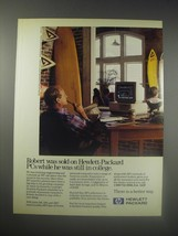 1990 Hewlett-Packard Vectra Personal Computers Ad - Robert was sold on  - $14.99