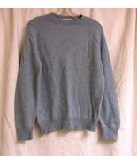 Light Blue Plain Crewnecked Woolblend Sweater size M - $10.00