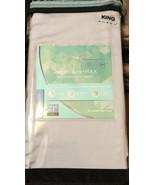 Sheex Arctic Aire Max 300 TC Tencel Lyocel King Pillowcases Pair Light B... - $28.50