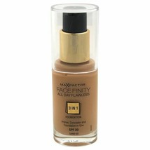 Max Factor Facefinity All Day Flawless 3 In 1 Foundation SPF20-#60 Sand - $11.38